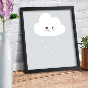 Quadro Decorativo Decoração Infantil Nuvem