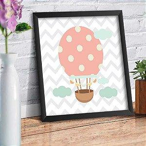 Quadro Decorativo Decoração Infantil Balão