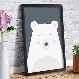 Quadro Decorativo Decoração Infantil Urso