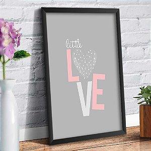 Quadro Decorativo Decoração Infantil Love