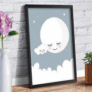 Quadro Decorativo Decoração Infantil Lua