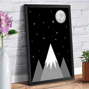Quadro Decorativo Decoração Infantil Montanhas