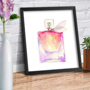 Quadro Decorativo Decoração Perfume