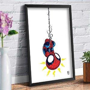 Quadro Decorativo Decoração Homem Aranha