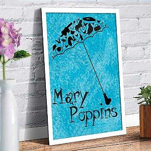 Quadro Decorativo Decoração Mary Poppins