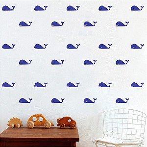 Adesivos de Parede Baleias