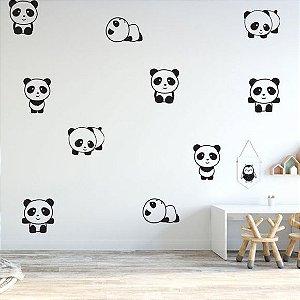 Adesivos de Parede Pandas