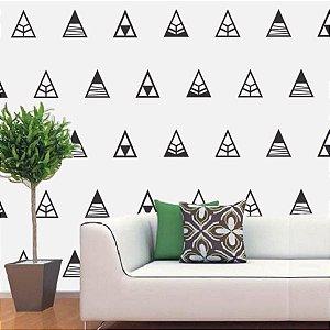 Adesivos de Triângulo Montanha