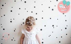 Adesivos de Parede Estrelas Sortidas