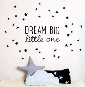 Adesivos de Parede Dream Big