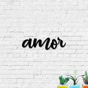 Palavra Decorativa de Parede Amor