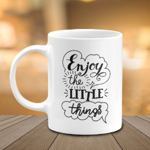 Caneca Enjoy The Little Things