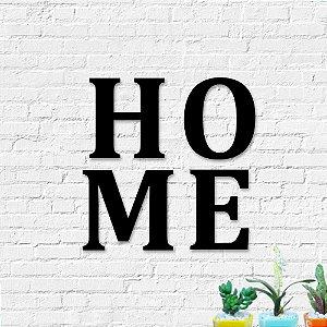 Palavra Decorativa de Parede Letras Home