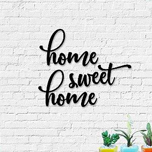 Palavra Decorativa de Parede Home Sweet Home