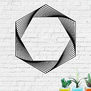 Aplique de Parede Geométrico