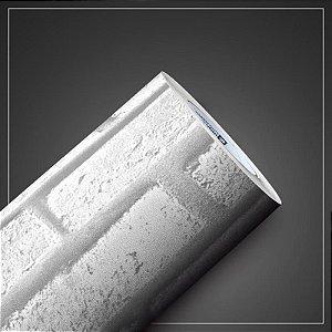Papel de Parede Adesivo Tijolo Branco