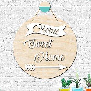 Placa Decorativa Decoração Home Sweet Home