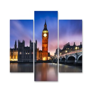 Conjunto Quadros Decorativos Londres