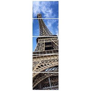 Conjunto Quadros Decorativos Torre Eiffel