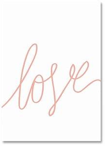 Quadro Decorativo Decoração Love