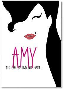 Quadro Decorativo Decoração Amy Winehouse