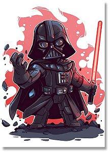 Quadro Decorativo Decoração Darth Vader