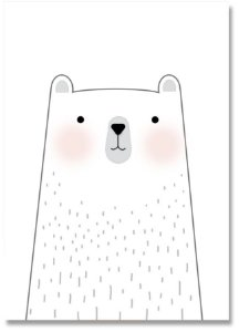 Quadro Decorativo Decoração Urso