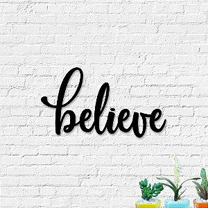 Palavra de Parede Believe