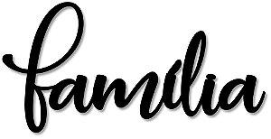 Palavra de Parede Família