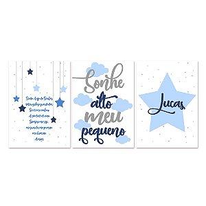 Kit Quadros Decorativos Santo Anjo