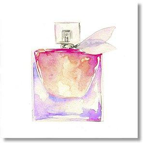 Quadro Decorativo Perfume