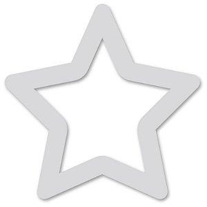 Aplique de Parede Estrela Vazada