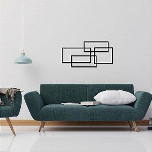 Escultura de Parede Abstrata