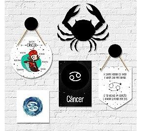 Kit Decoração Câncer