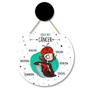 Flâmula Redonda Câncer + Ganchinho Brinde