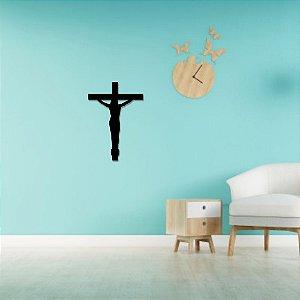 Escultura de Parede Crucifixo