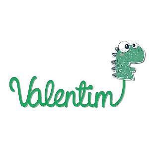 Nome Personalizado Dinossauro