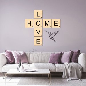 Kit Decoração Love Home