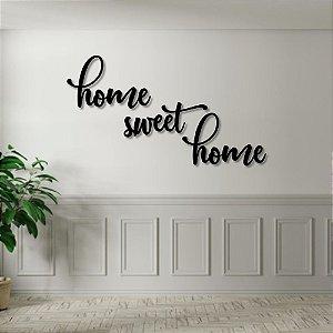 Palavra de Parede Home Sweet Home