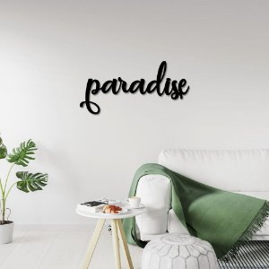Palavra de Parede Paradise