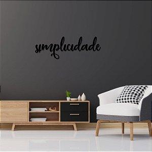Palavra de Parede Simplicidade