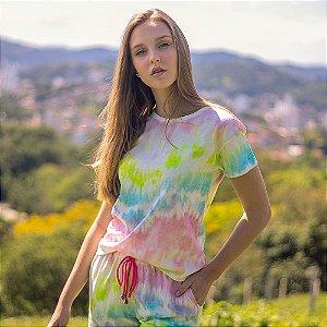 T-shirt Tie Dye - Neon