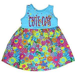 Vestido Cute Day Azul