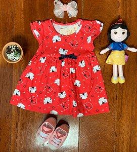 Vestido Gatinha Vermelho