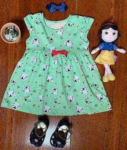 Vestido Gatinha Verde