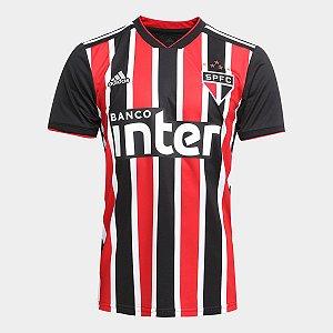 d148709865 Camisa São Paulo II 2018 Torcedor Adidas Masculina - Vermelho e Branco