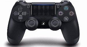 Controles  Controle Dualshock 4 PS4 Preto (Versão 2) - Sony