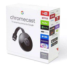 Chromecast 2 Google NC2-6A5 HDMI Preto