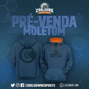 Moletom Cooldown E-sports  (Pré-venda)