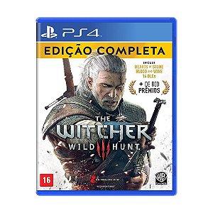Jogo The Witcher 3: Wild Hunt (Edição Completa) - PS4